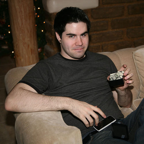 Michael with money blog