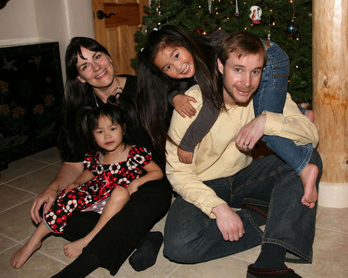 Family photo christmas 2008 blog
