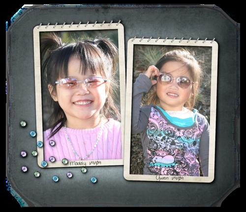Two photos sunglasses blog