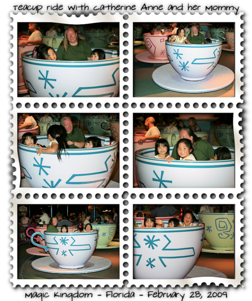 Saturday teacups