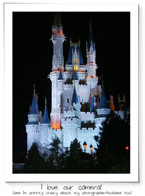 Sunday castle at night