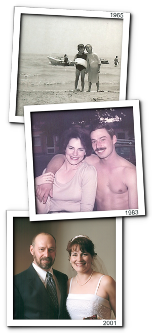 David and donna over the years-000001