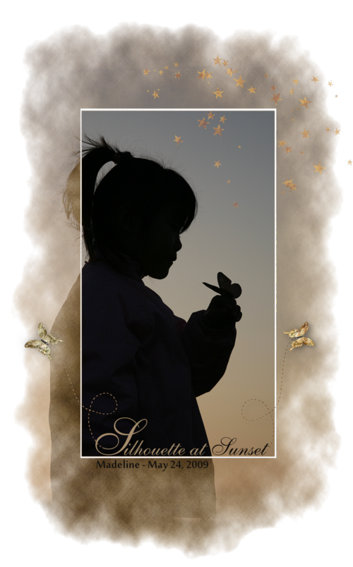 Silhouette butterfly-000001