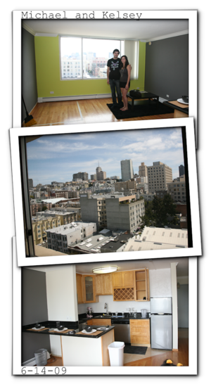 Michael kelsey apartment blog