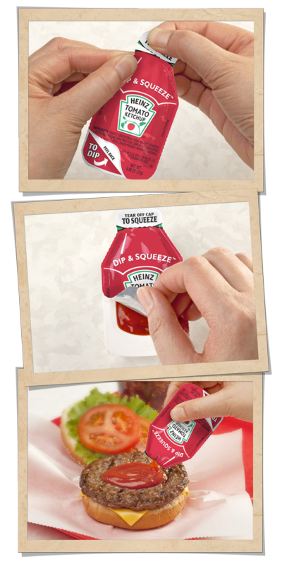 Heinz new ketchup package