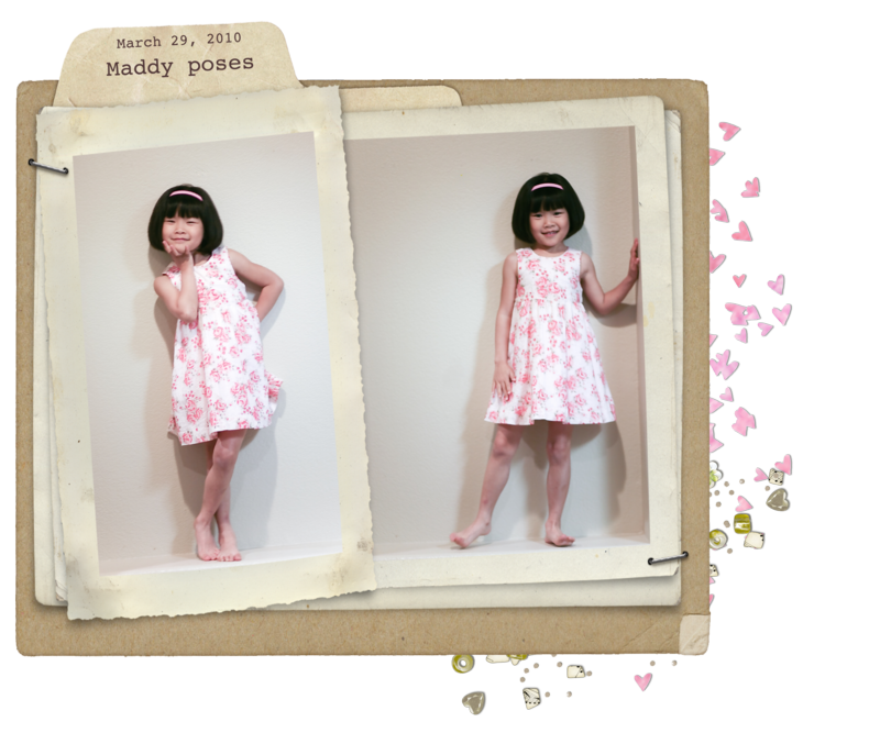 Rose bloom dress two frames