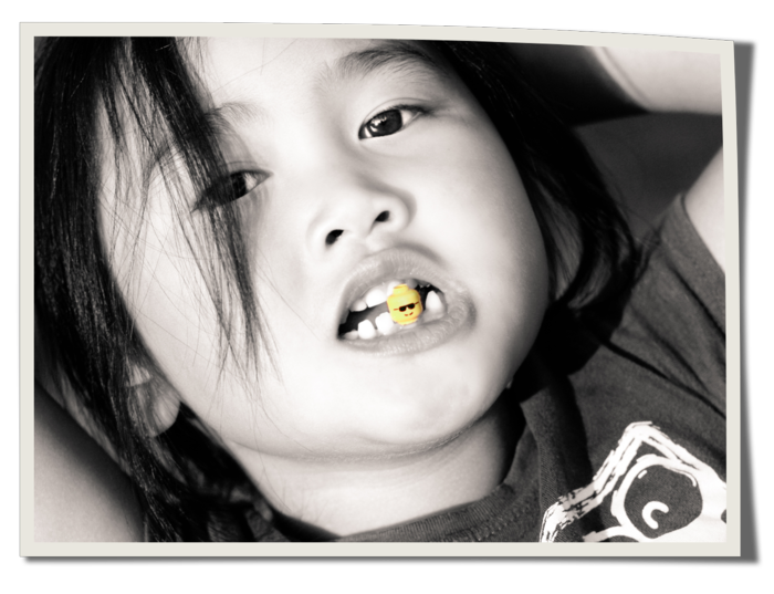 Gwen pirate lego tooth