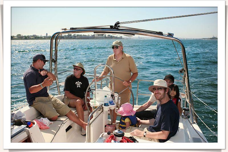 Sailing san diego-