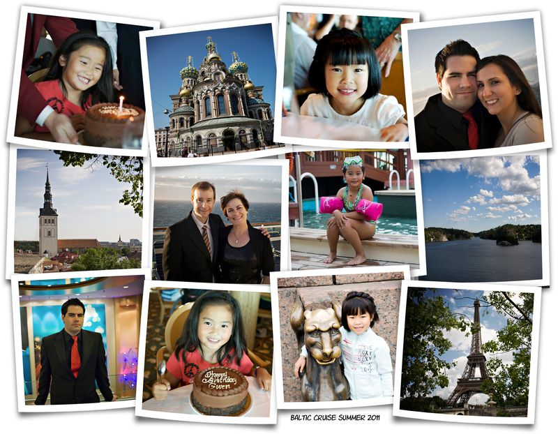 Baltic cruise 2011 collage