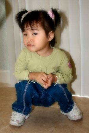 20061207_maddy_pigtails_squat