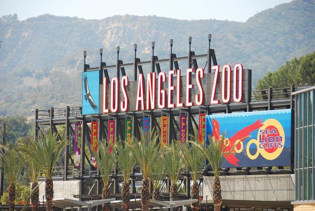 20070824 a Los Angeles Zoo entrance